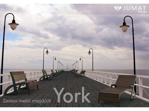 Zestaw mebli miejskich York